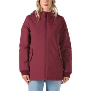ded4a440378 NWT Vans Burgundy Inferno Jacket size L NWT